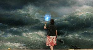 Жінка й море