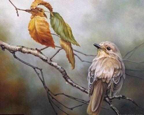 Олег Шупляк. Дві птиці.