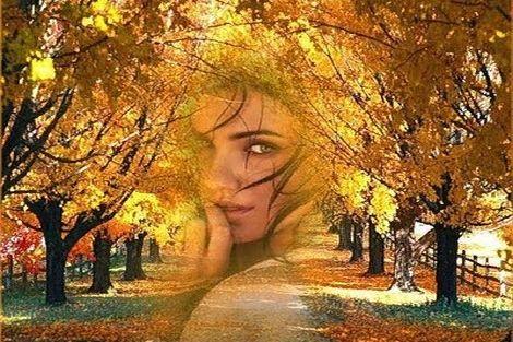 Малює осінь...