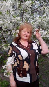 Людмила Ромен - весняний цвіт