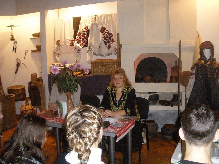 З студентами СДПУ до Дня української мови та писемності 9 листопада 2010