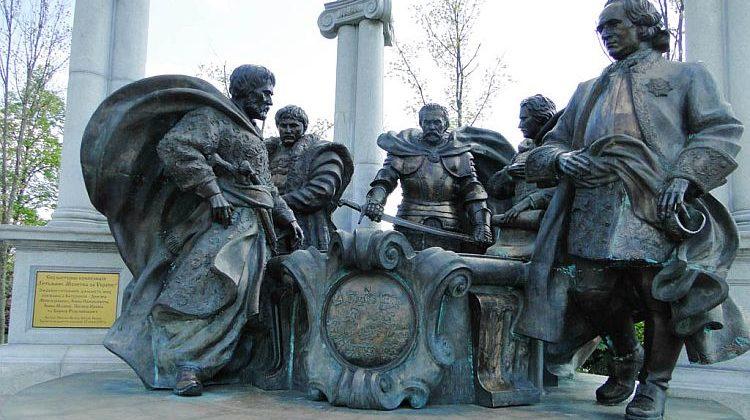 "Батурин. Пам'ятник ""Молитва за Україну""."