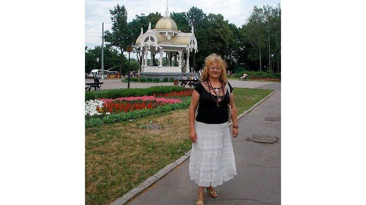 Людмила Ромен в Сумах
